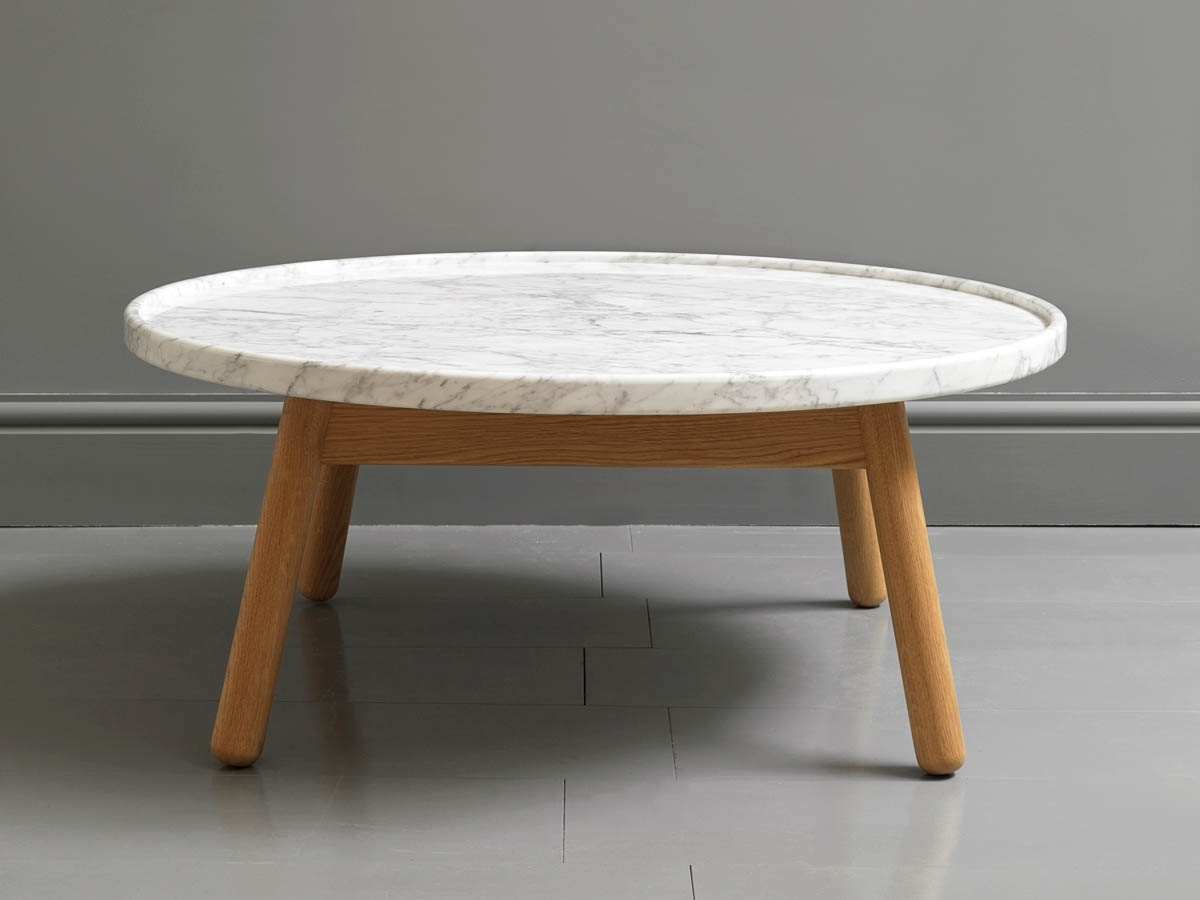 Collection In Oval Marble Coffee Table With Coffee Table Smart Round Intended For Smart Round Marble Brass Coffee Tables (View 11 of 30)