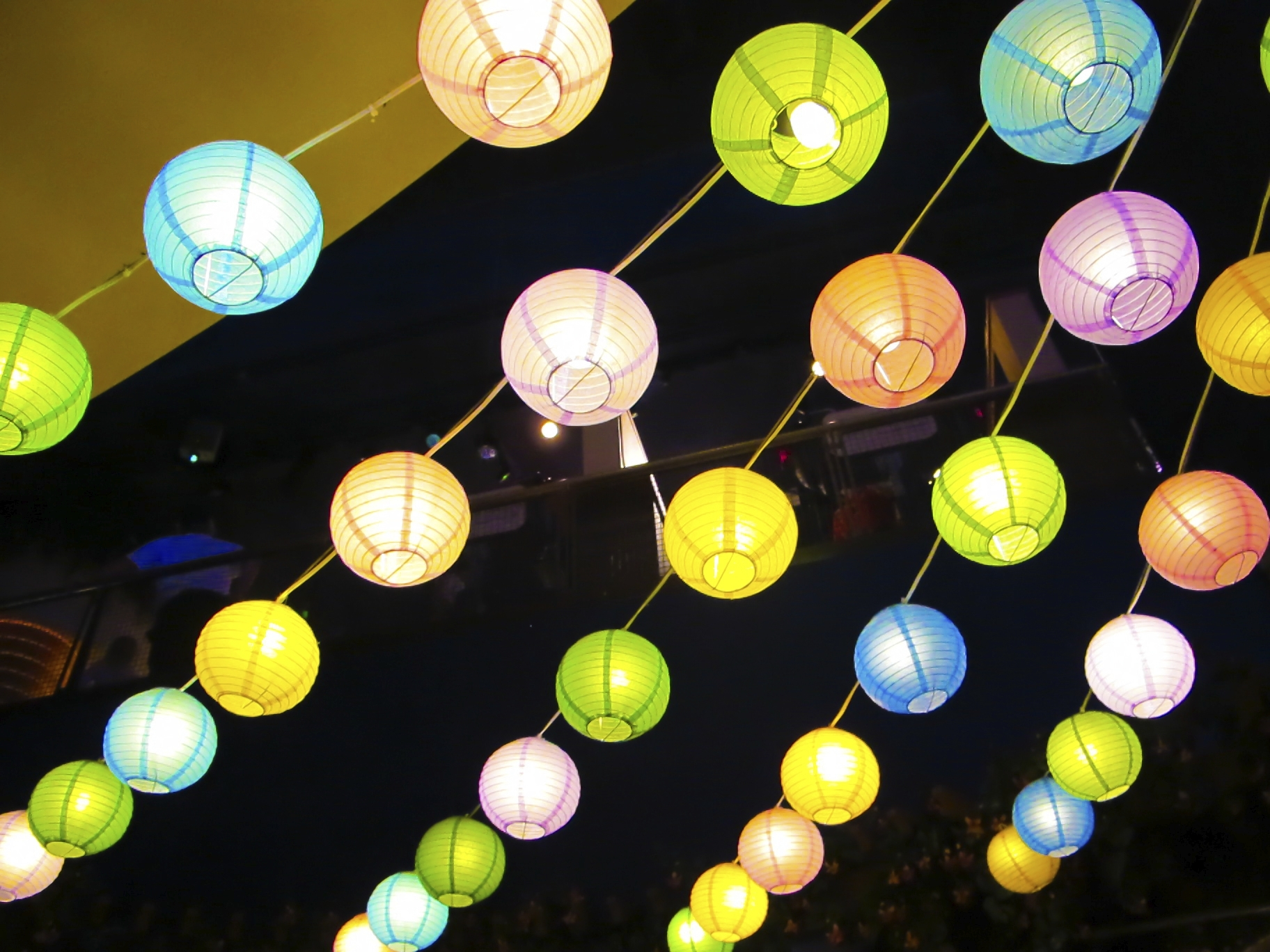 Colourful Paper Lanterns | intended for Outdoor Paper Lanterns (Image 5 of 20)