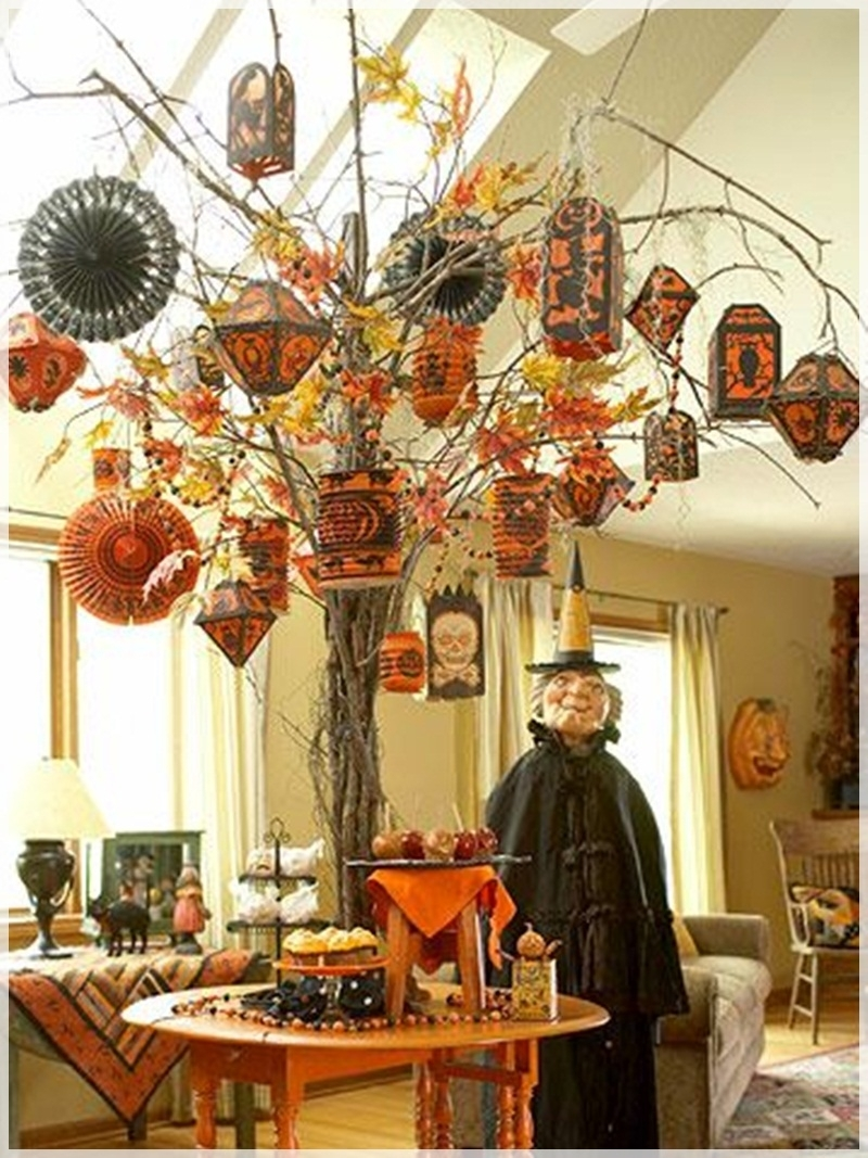 Complete List Of Halloween Decorations Ideas In Your Home pertaining to Outdoor Halloween Lanterns (Image 8 of 20)