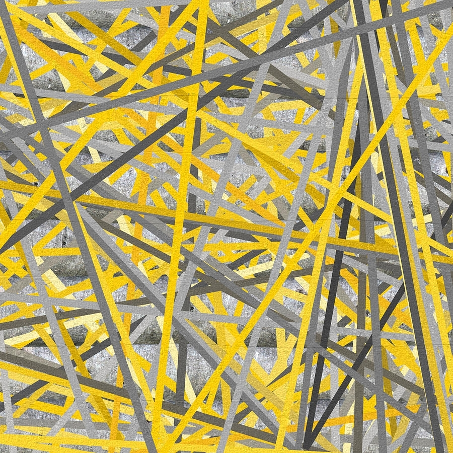 Featured Photo of Yellow And Gray Wall Art