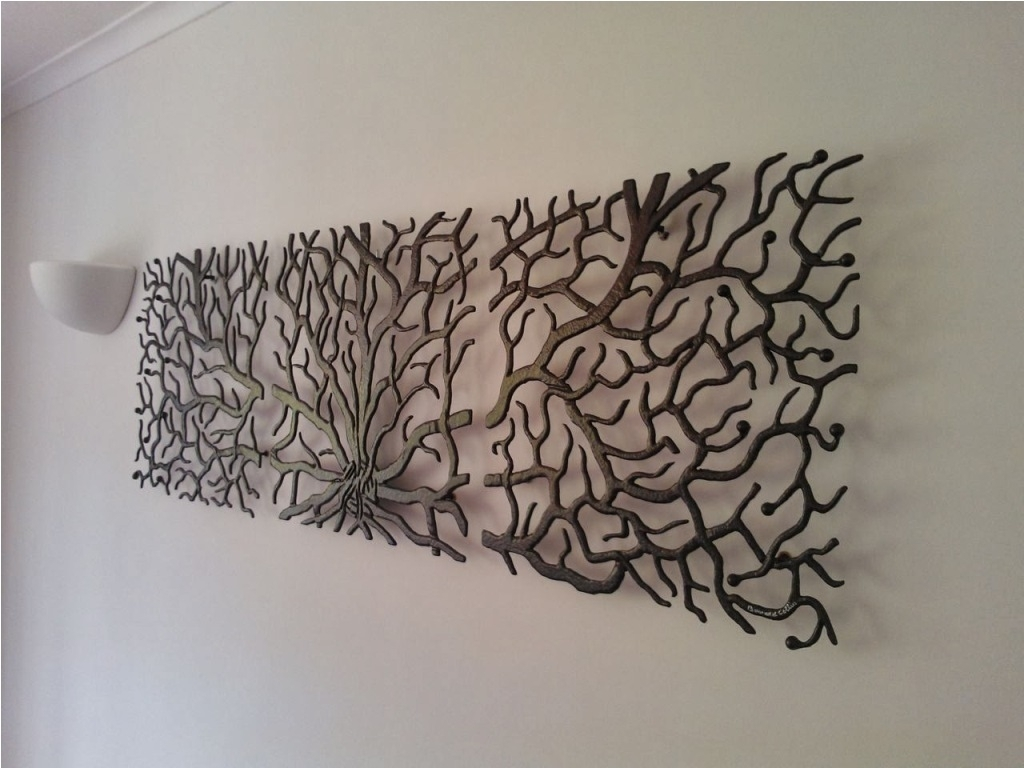 Contemporary Large Iron Wall Decor : Large Iron Wall Decor Ideas with Iron Wall Art (Image 7 of 20)