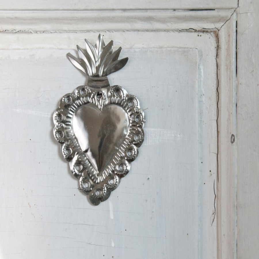 Contemporary Metal Wall Art : Hot Home Decor - Beautiful Silver Wall throughout Silver Metal Wall Art (Image 4 of 20)