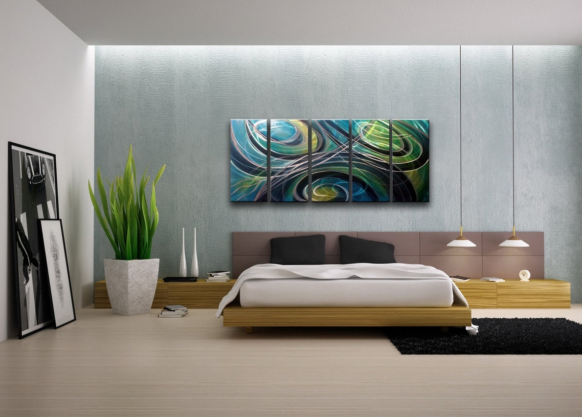 Contemporary Wall Art For Modern Homes | Decozilla intended for Contemporary Wall Art (Image 6 of 20)