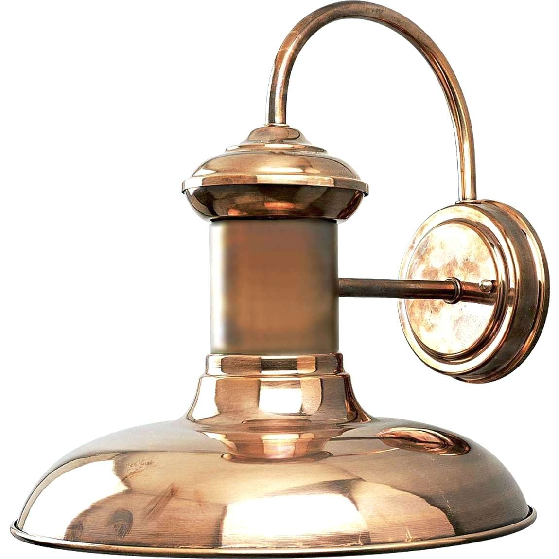 Copper Sconce Lighting - Pixball throughout Copper Outdoor Lanterns (Image 5 of 20)