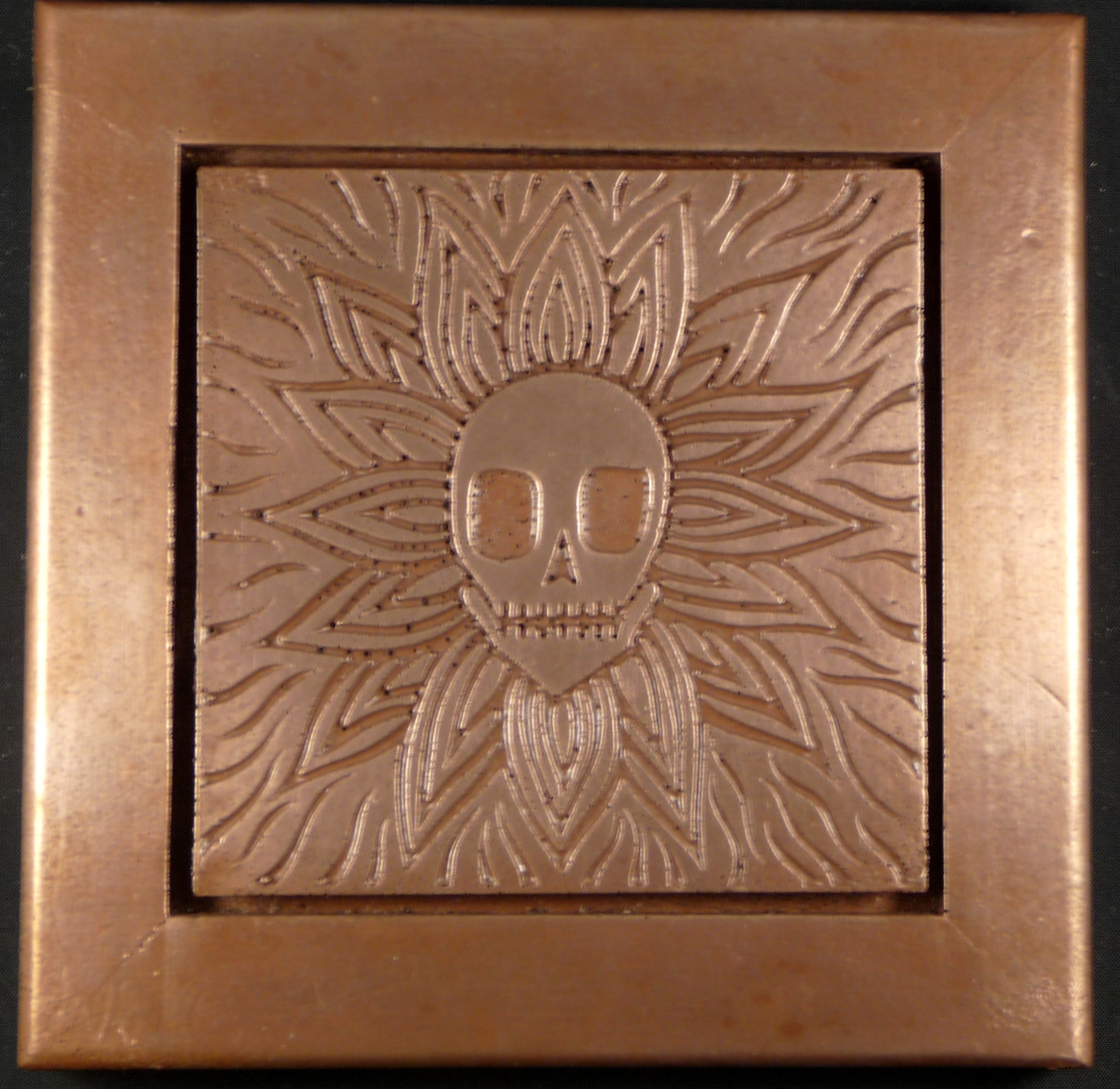 Copper Tile Wall Decor | Pacifica Tile Art Studio within Copper Wall Art (Image 8 of 20)