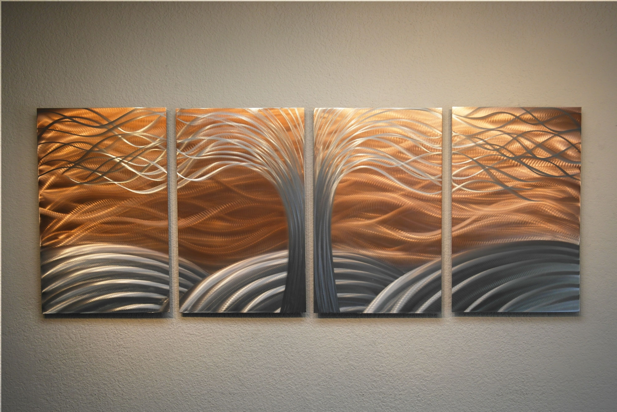 Copper Wall Decor Simple Wall Art Decor - Rfequilibrium Copper intended for Copper Wall Art (Image 9 of 20)