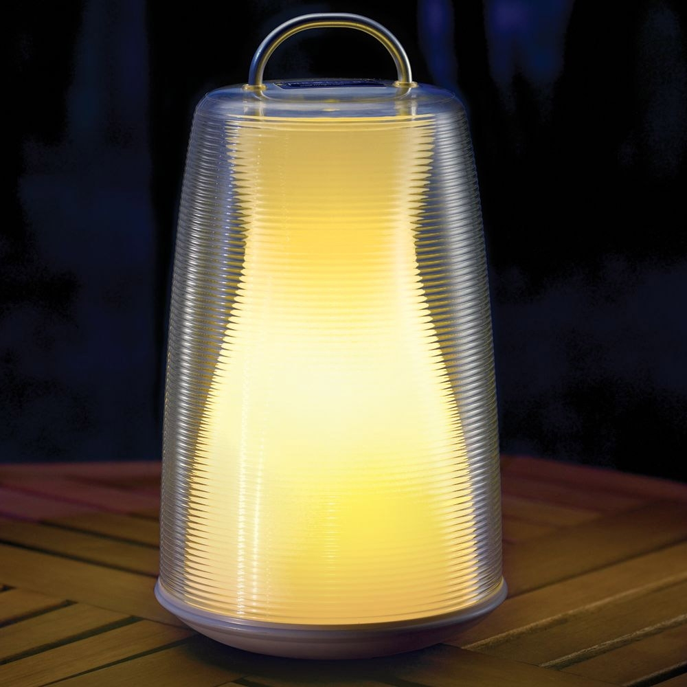 Cordless Patio Lantern - The Green Head within Outdoor Rechargeable Lanterns (Image 8 of 20)