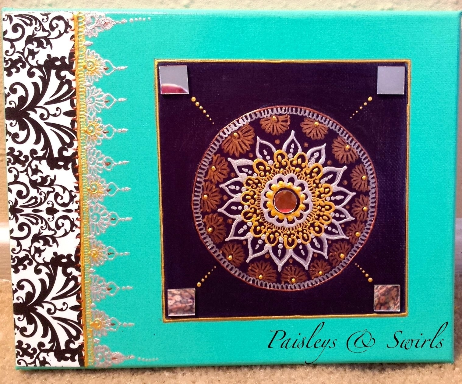 Craftionary within Henna Wall Art (Image 5 of 20)