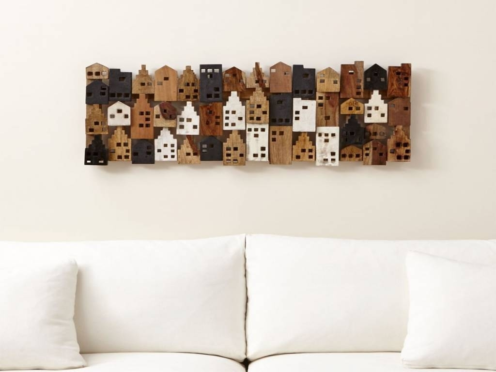 Crate And Barrel Decor Beautiful Which Village Rectangular Wall Art Pertaining To Crate And Barrel Wall Art (View 8 of 20)