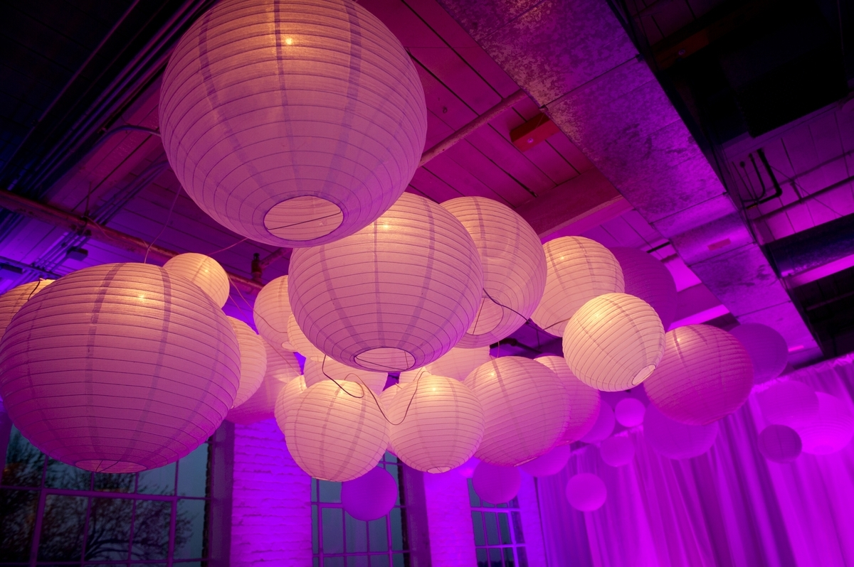 Creating A Unique Lighting Experience With Round Paper Lanterns throughout Outdoor Round Lanterns (Image 4 of 20)