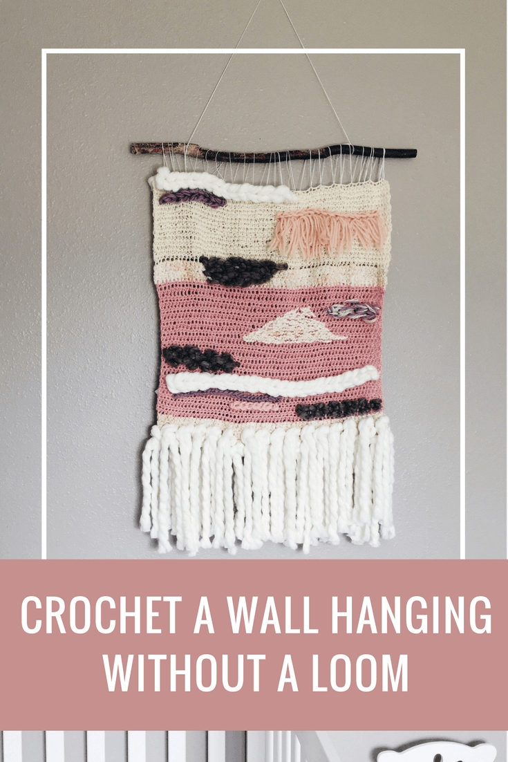 Crochet Wall Hanging Tutorial- Create A Statement Piece For Your within Crochet Wall Art (Image 7 of 20)