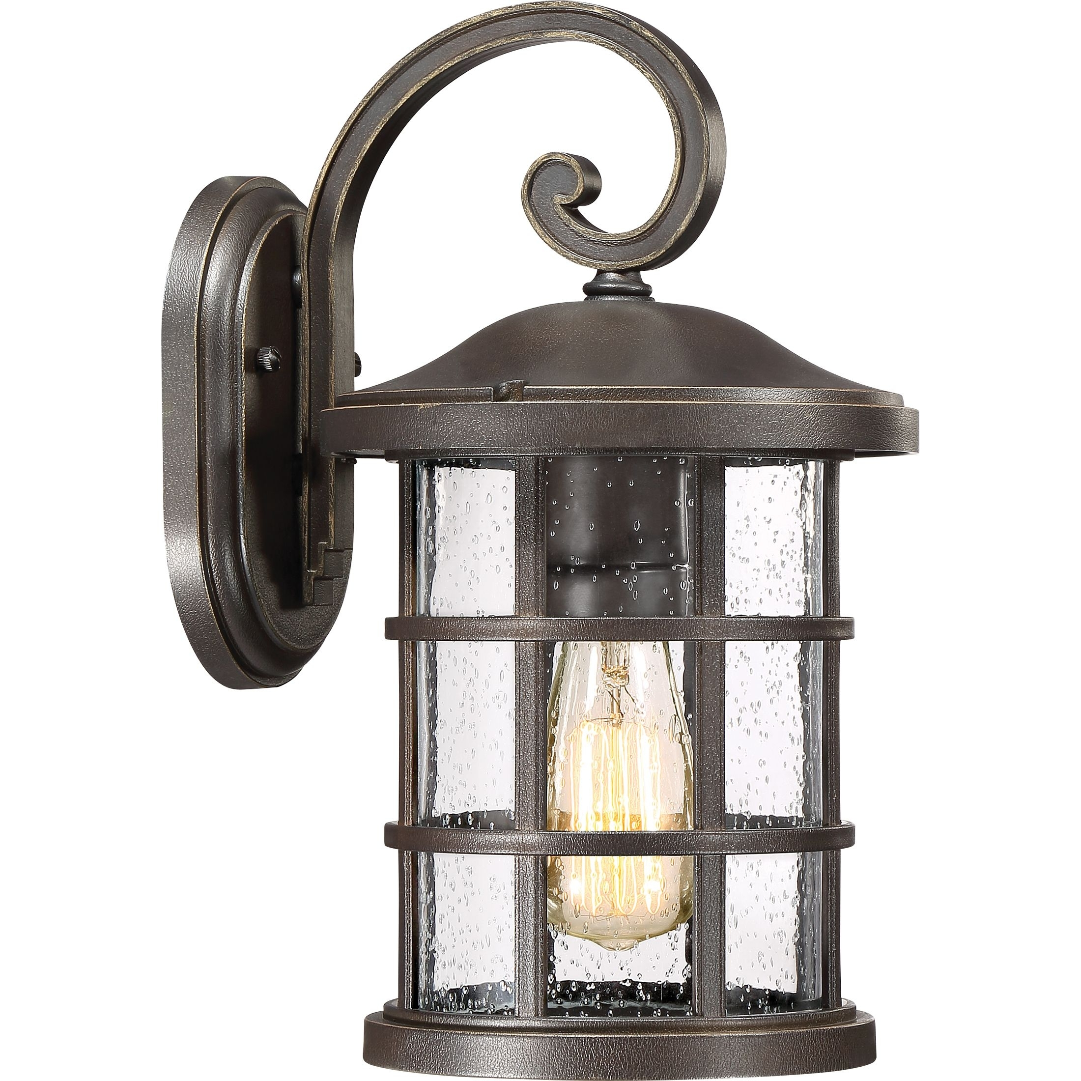 Crusade Outdoor Lantern | Quoizel throughout Outdoor Lanterns And Sconces (Image 7 of 20)