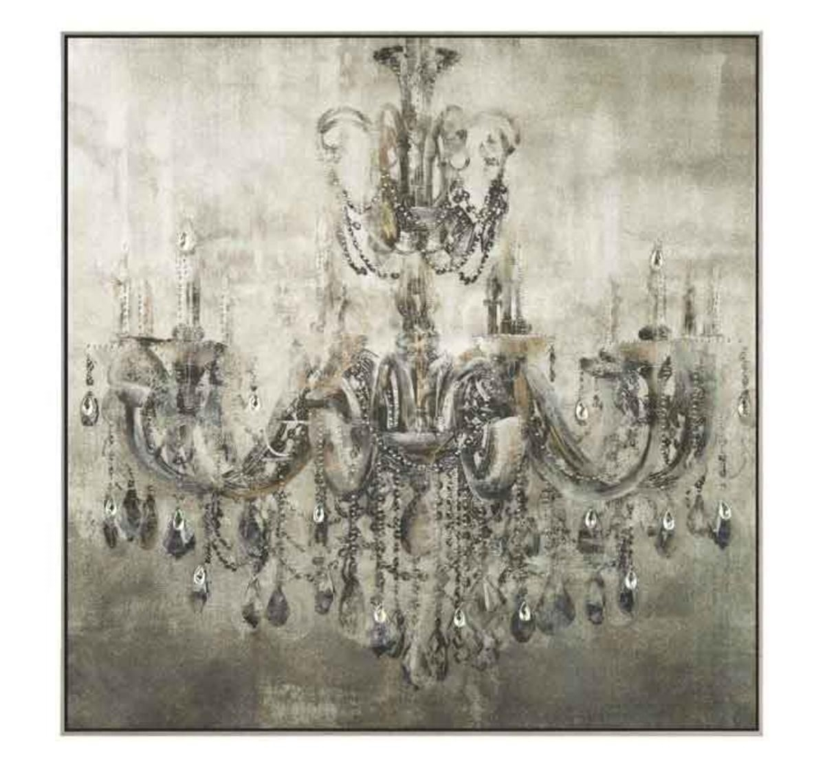 Crystal Chandelier Wall Art | Badcock &more Pertaining To Chandelier Wall Art (View 9 of 20)