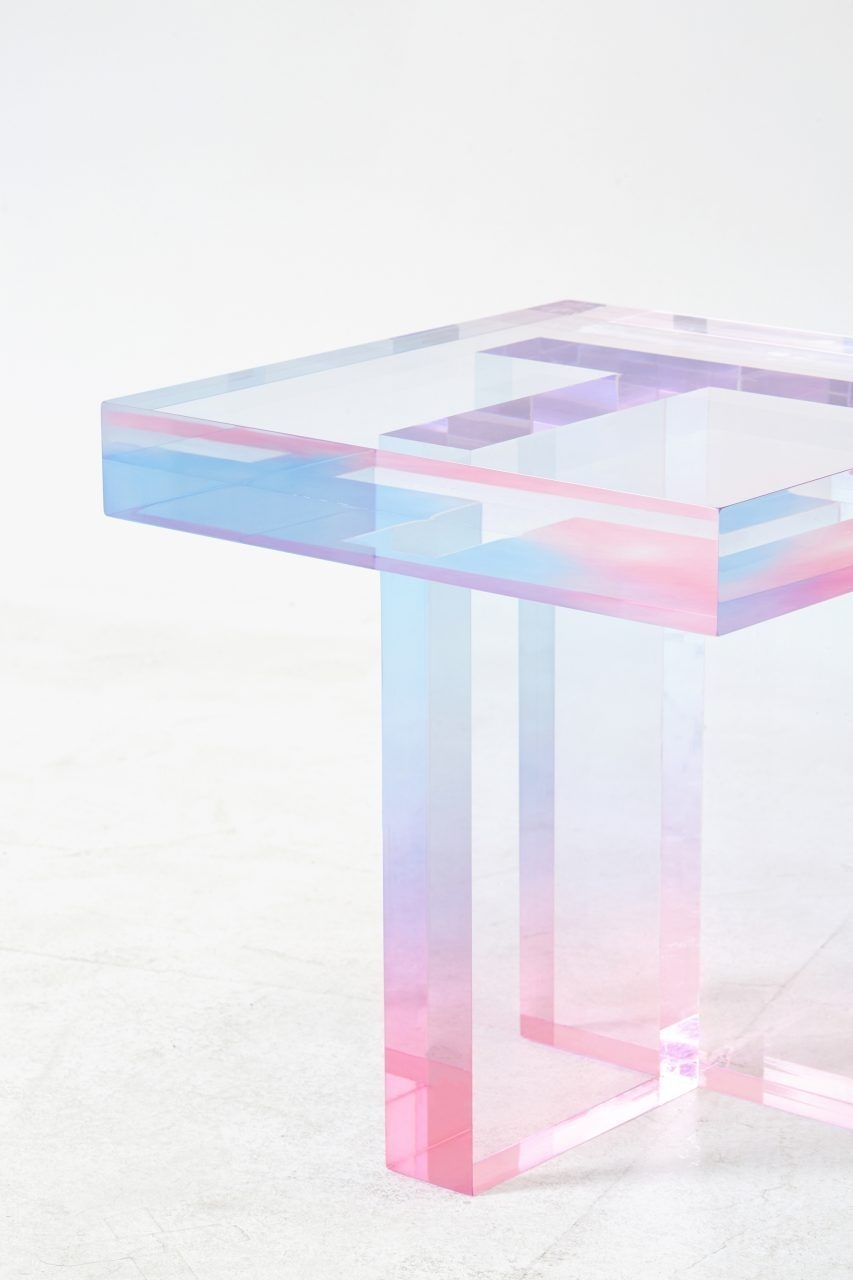Crystal Series_Table | Furniture Design | Pinterest | Acrylic Side for Modern Acrylic Coffee Tables (Image 12 of 30)