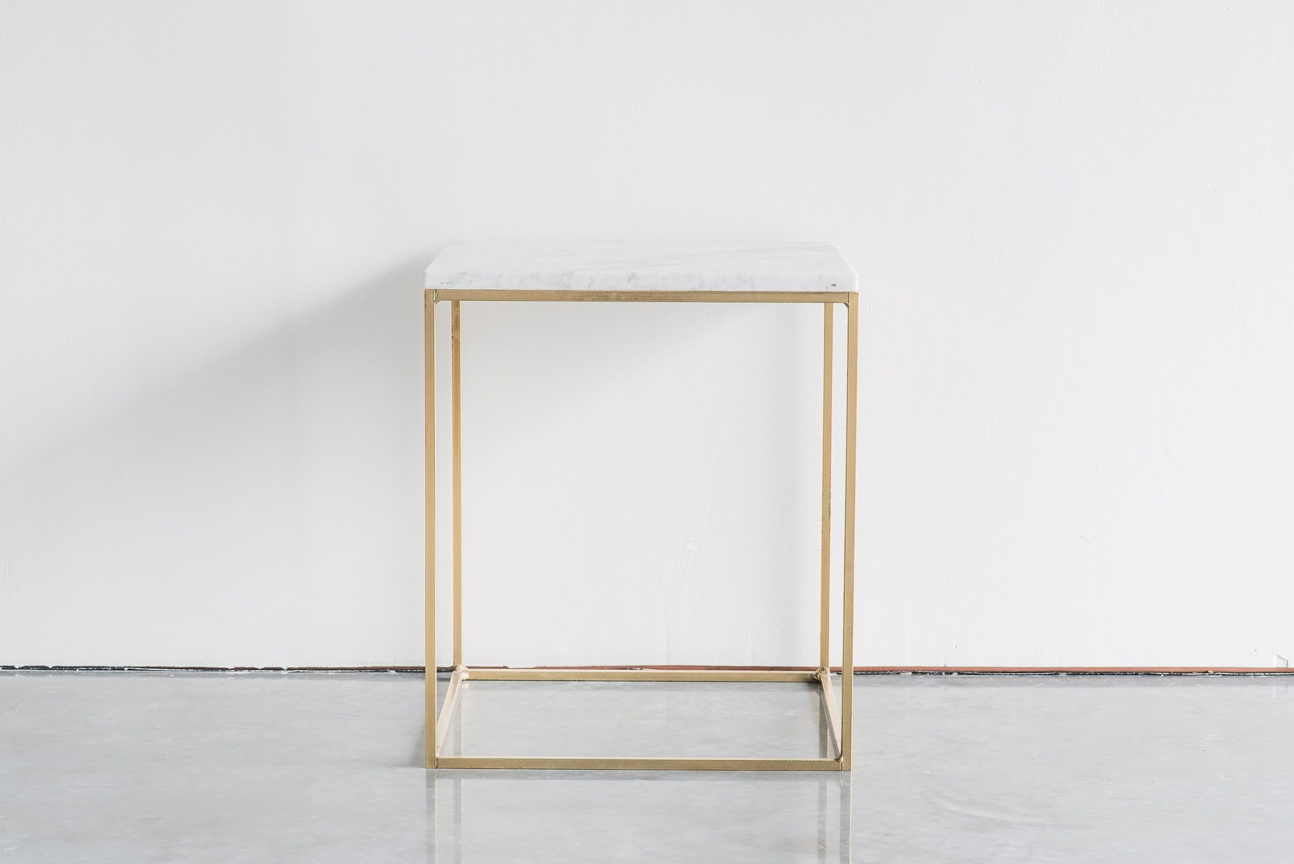 Cube Side Table Short Brass | Lounge/dining | Pinterest | Cube intended for Brass Iron Cube Tables (Image 13 of 30)