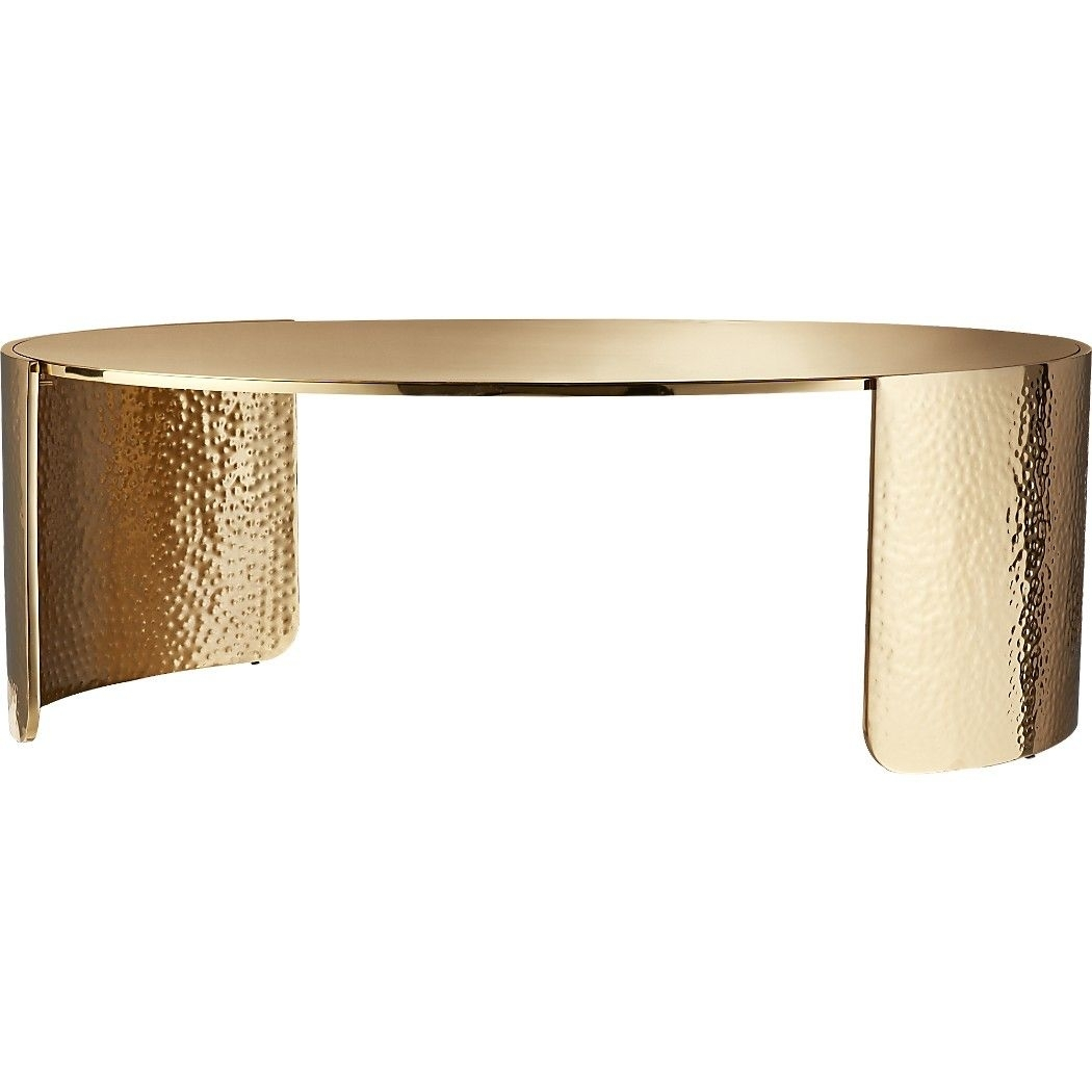 Featured Photo of Cuff Hammered Gold Coffee Tables