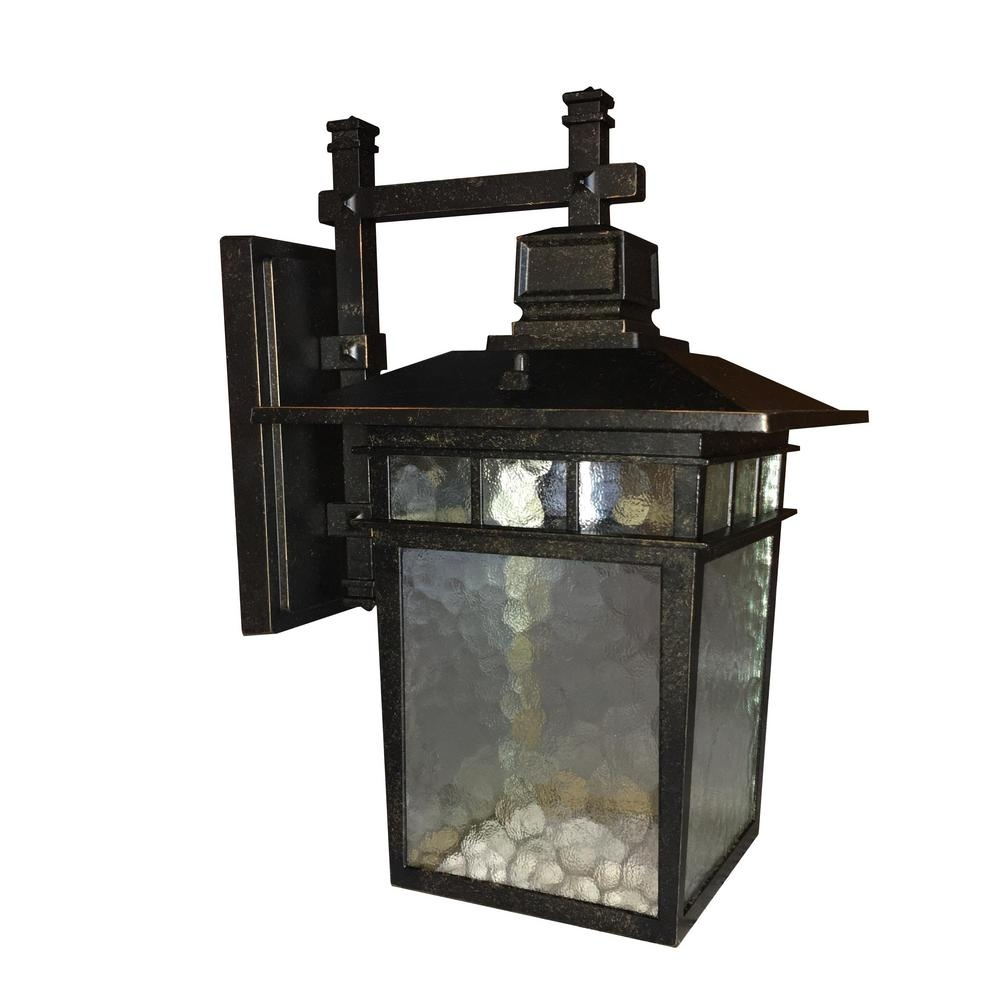 Cullen 1-Light Oil-Rubbed Bronze Outdoor Wall Light | Outdoor Walls intended for Outdoor Oil Lanterns for Patio (Image 3 of 20)