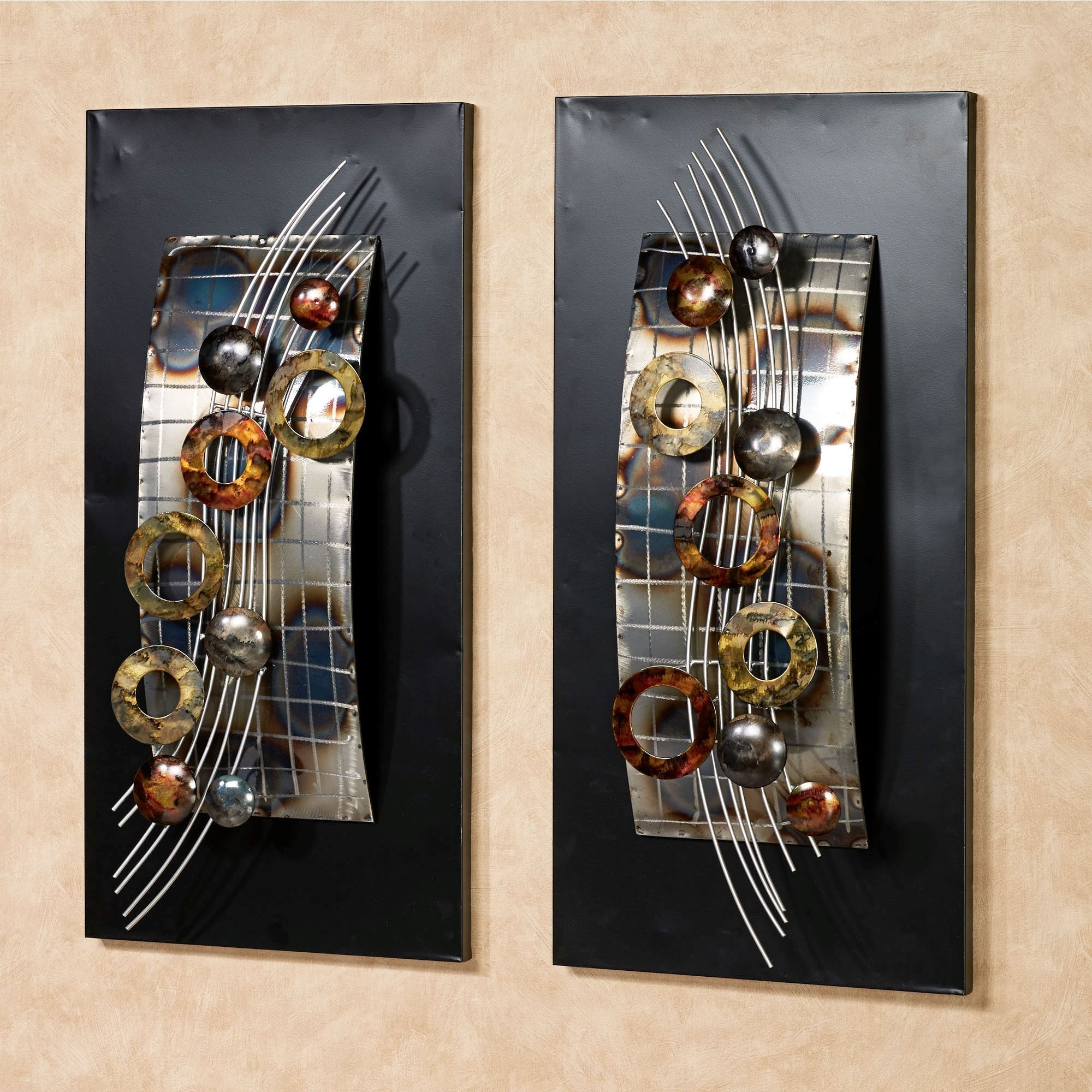 D Luxury Metal Wall Art Panels – Home Design And Wall Decoration Ideas Regarding Wall Art Panels (View 8 of 20)
