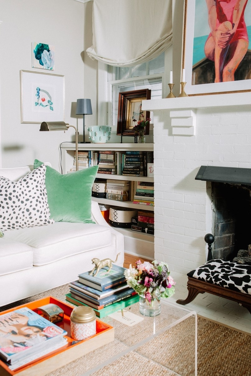 Daily Find | Cb2 Peekaboo Acrylic Tall Coffee Table – Copycatchic Within Peekaboo Acrylic Tall Coffee Tables (View 3 of 30)