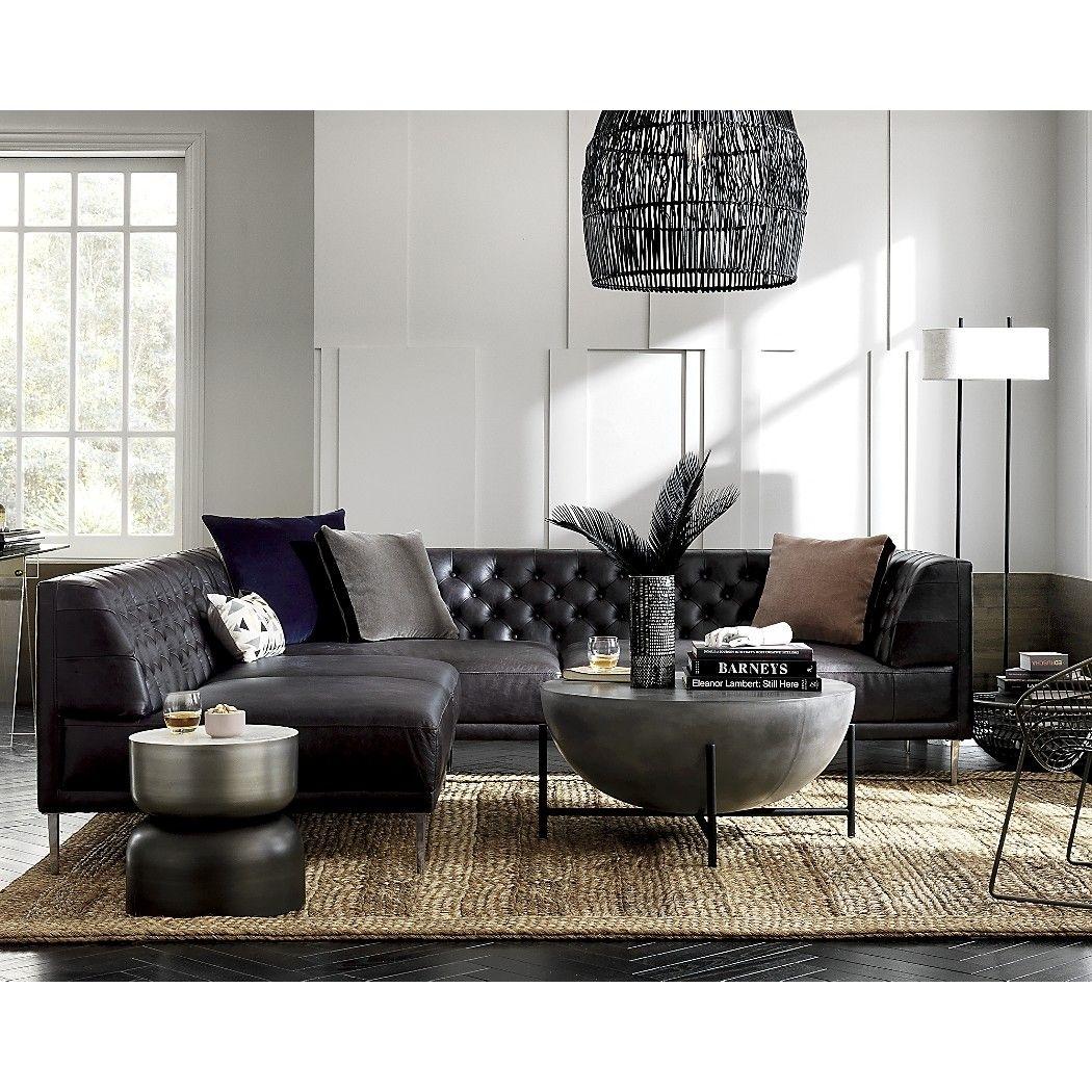 Darbuka Black Coffee Table | Family Room | Pinterest | Tufted with Darbuka Black Coffee Tables (Image 9 of 30)