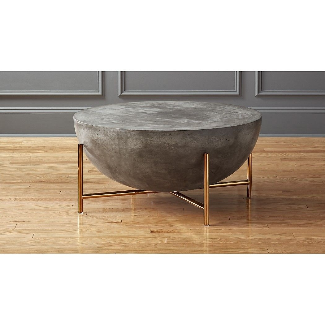 Darbuka Brass Coffee Table   Ottomans, Tables And Interiors With Regard To Darbuka Black Coffee Tables (View 5 of 30)
