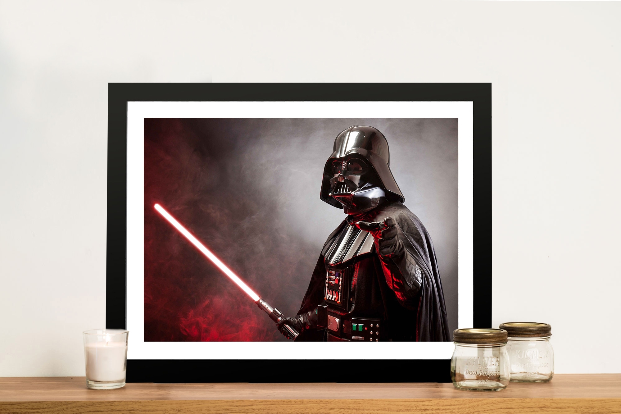 Darth Star Wars Canvas Print | Wall Art Print Australia pertaining to Darth Vader Wall Art (Image 5 of 20)