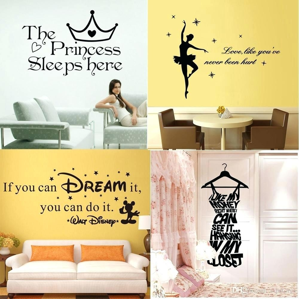 Decent Stick Wall Art Name Wall Stickers Star Wall Stickers Train With Wall Art Sayings (View 19 of 20)
