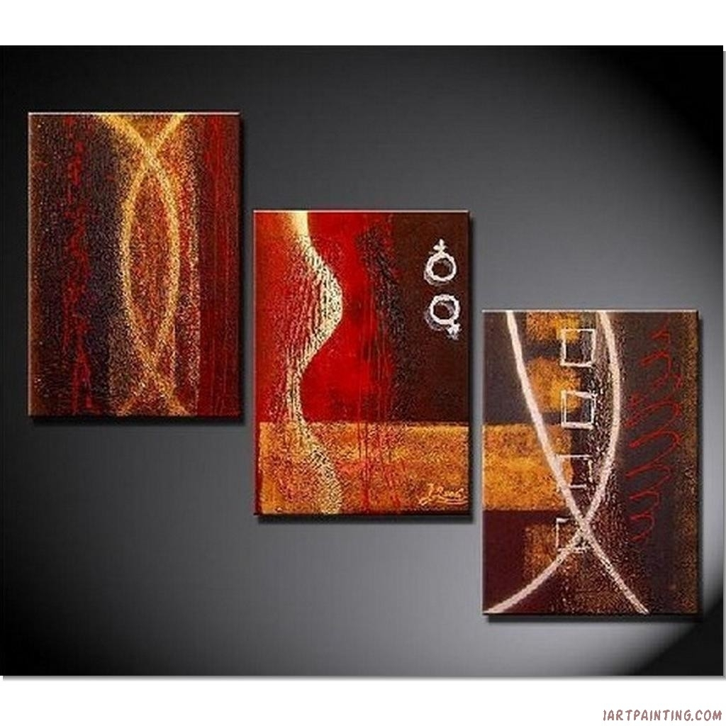 Decor Tips Awesome Abstract Piece Canvas Wall Art Sets For for Modern Abstract Painting Wall Art (Image 11 of 20)