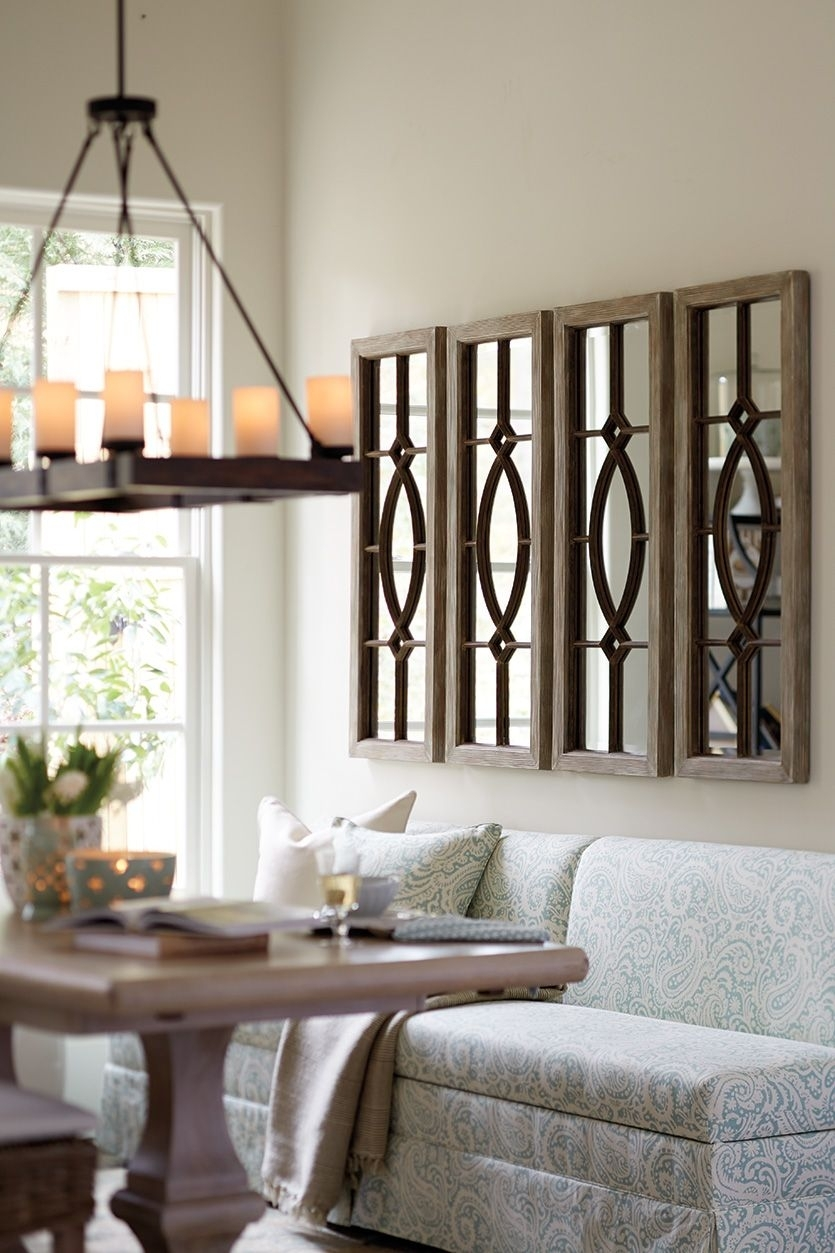 Decorating With Architectural Mirrors | Living Room | Pinterest Throughout Dining Room Wall Art (View 7 of 20)