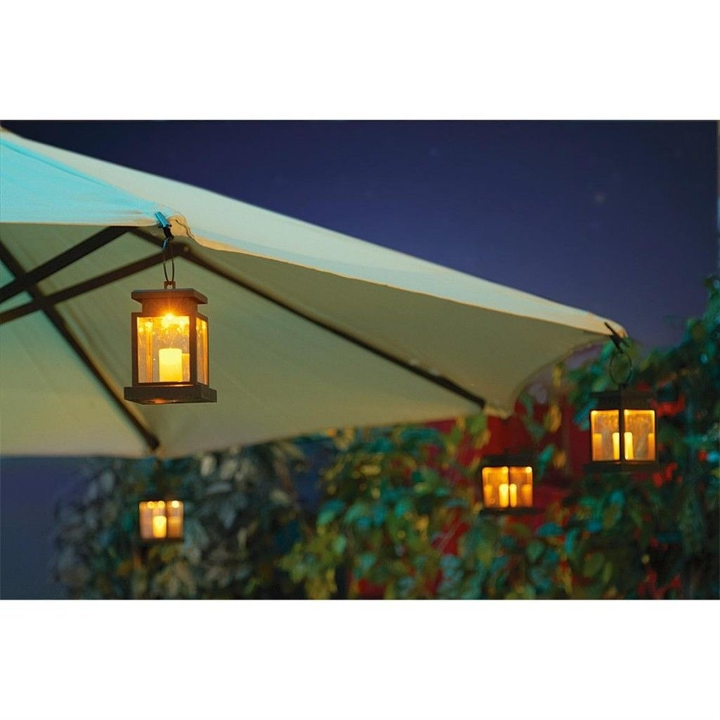 Decoration, Patio Umbrella Lights: How To Decorate Your Patio With For Outdoor Umbrella Lanterns (View 6 of 20)