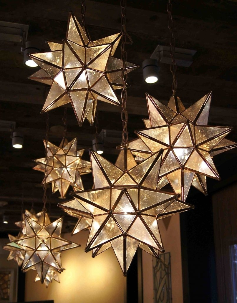 Decoration The Mexican Star Pendant Light Modern. Hanging. Outdoor (View 3 of 20)