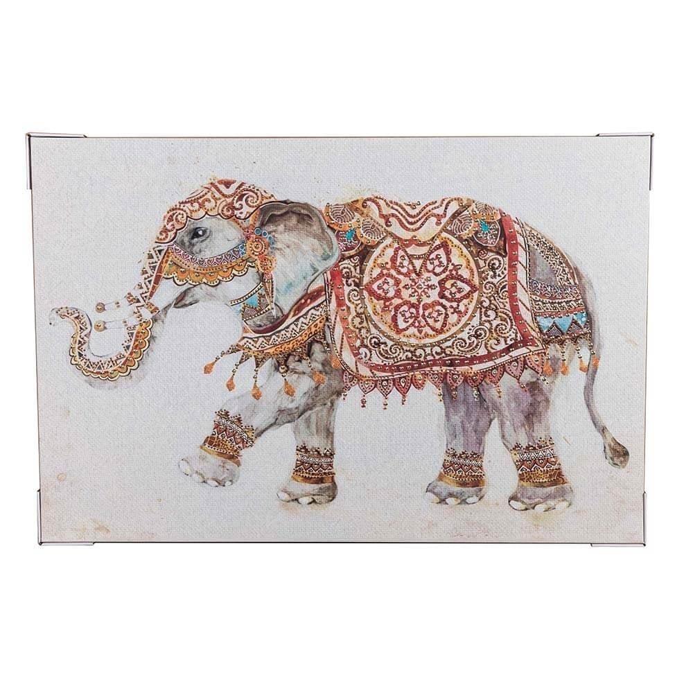 Decorative Elephant Canvas|Canvas Art | Canvas Print|Canvas Wall Art with Elephant Canvas Wall Art (Image 10 of 20)