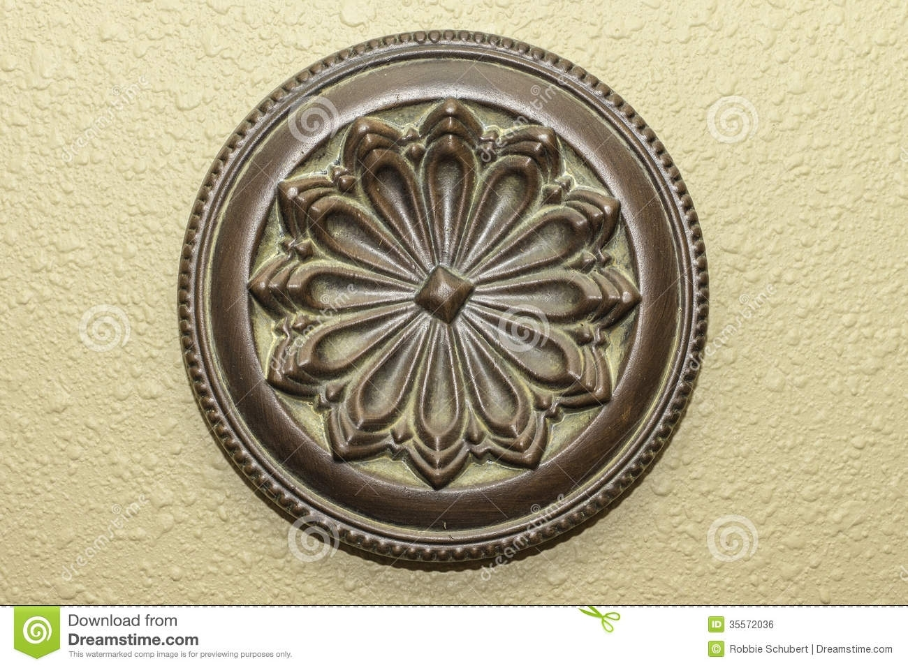 Decorative Round Wall Art Stock Photo (View 15 of 20)