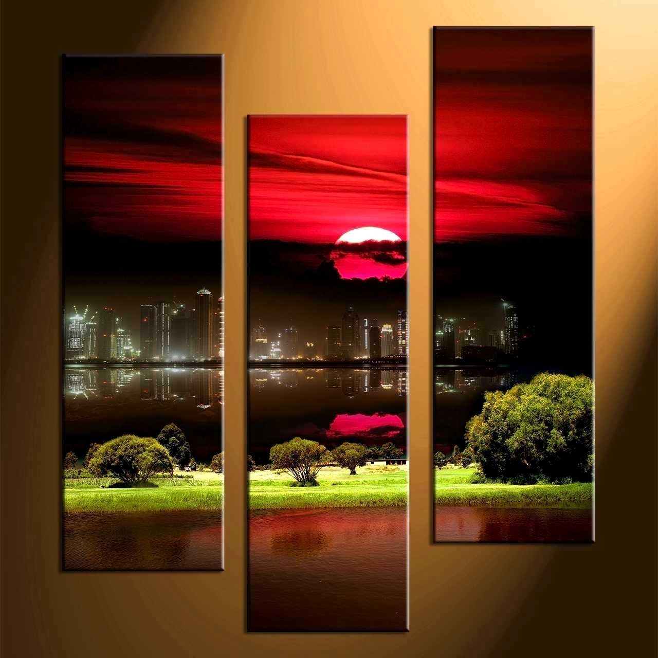 Delectable Remarkable Wall Decor Piece Canvas Art Black Artwork Home Within Red And Black Canvas Wall Art (View 13 of 20)