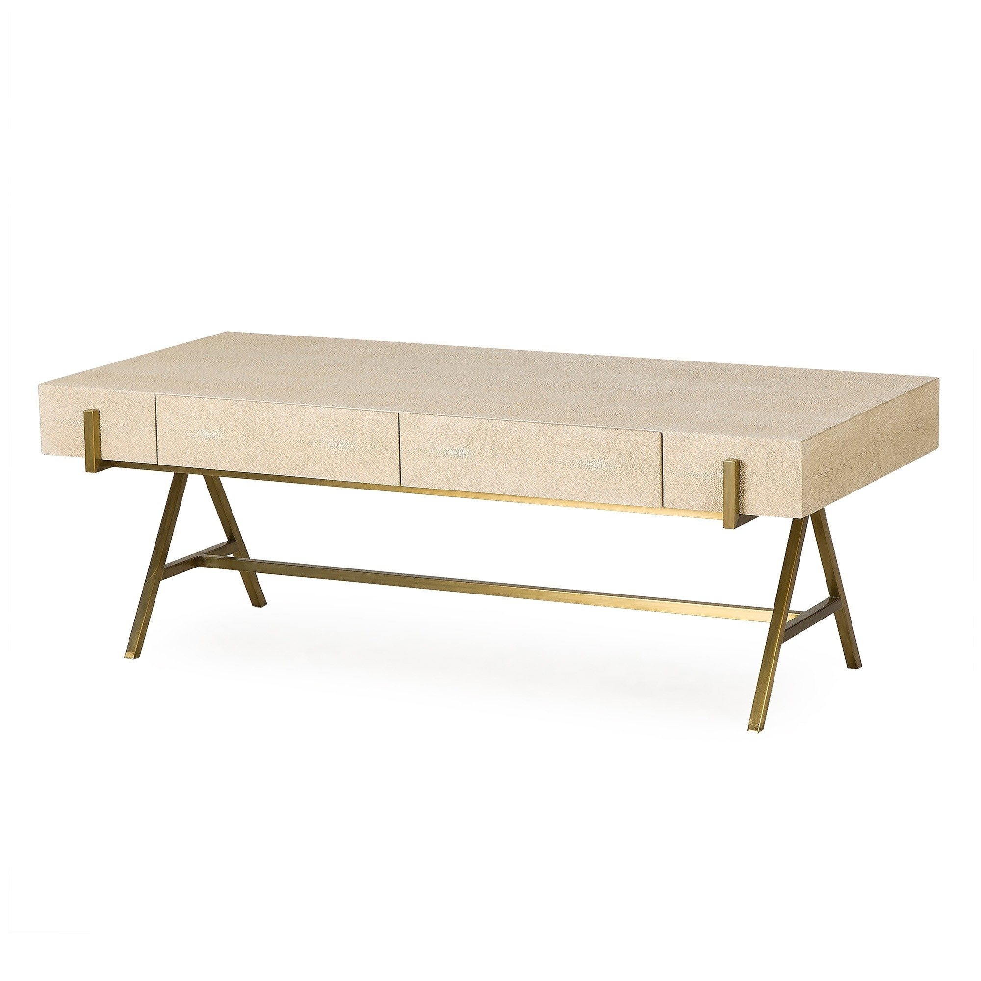 Delilah Coffee Table | Curated Kravet regarding Joni Brass and Wood Coffee Tables (Image 13 of 30)