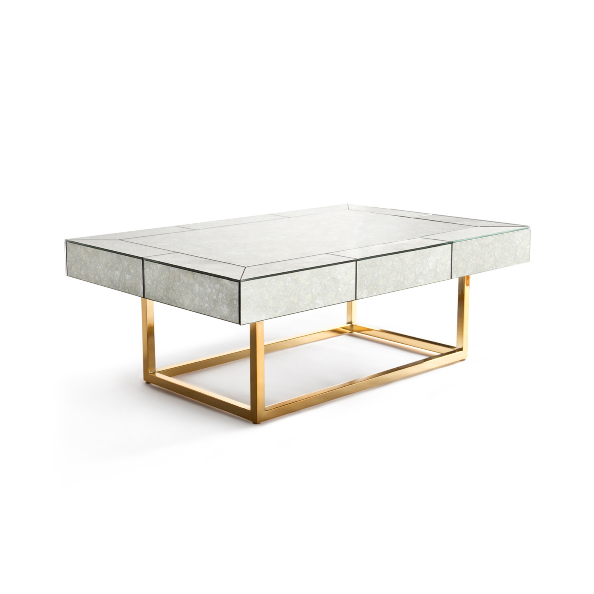 Delphine Coffee Table inside Joni Brass And Wood Coffee Tables (Image 14 of 30)