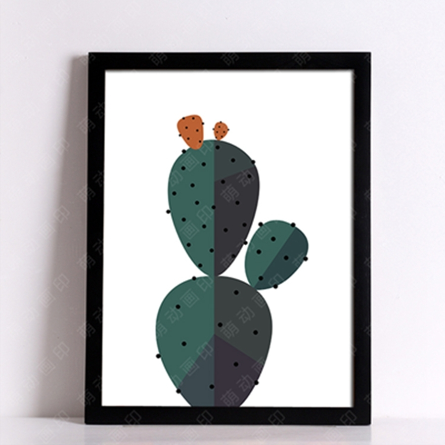 Desert Cactus Wall Art Print Decorative Wall Painting , Cactus inside Cactus Wall Art (Image 10 of 20)
