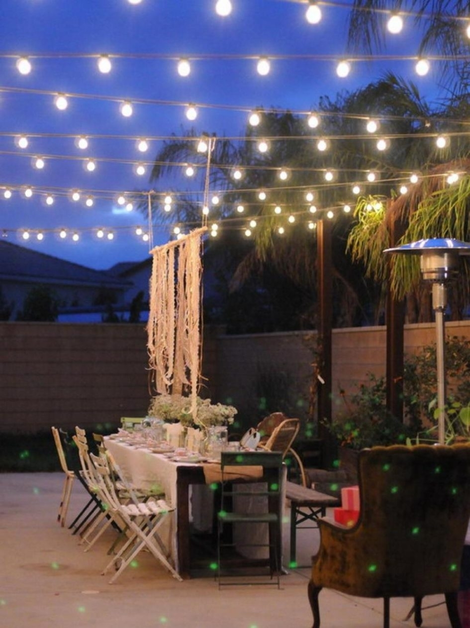 Design Of Outdoor Patio Lighting Ideas Lighting Ideas Outdoor with regard to Outdoor Dining Lanterns (Image 5 of 20)