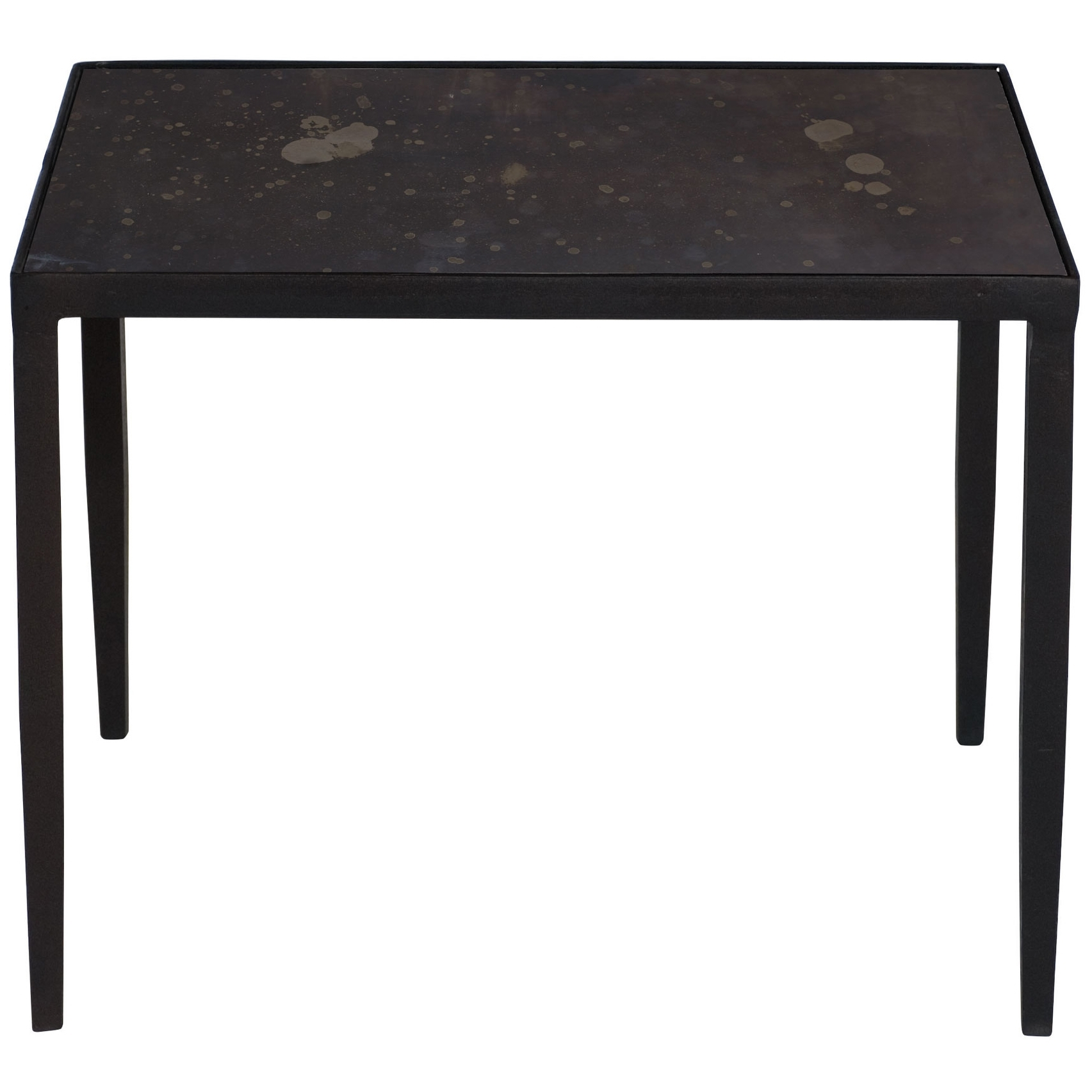 Designer Side & End Tables - Eclectic Side & End Tables | Kathy Kuo Home inside Aged Iron Cube Tables (Image 13 of 30)