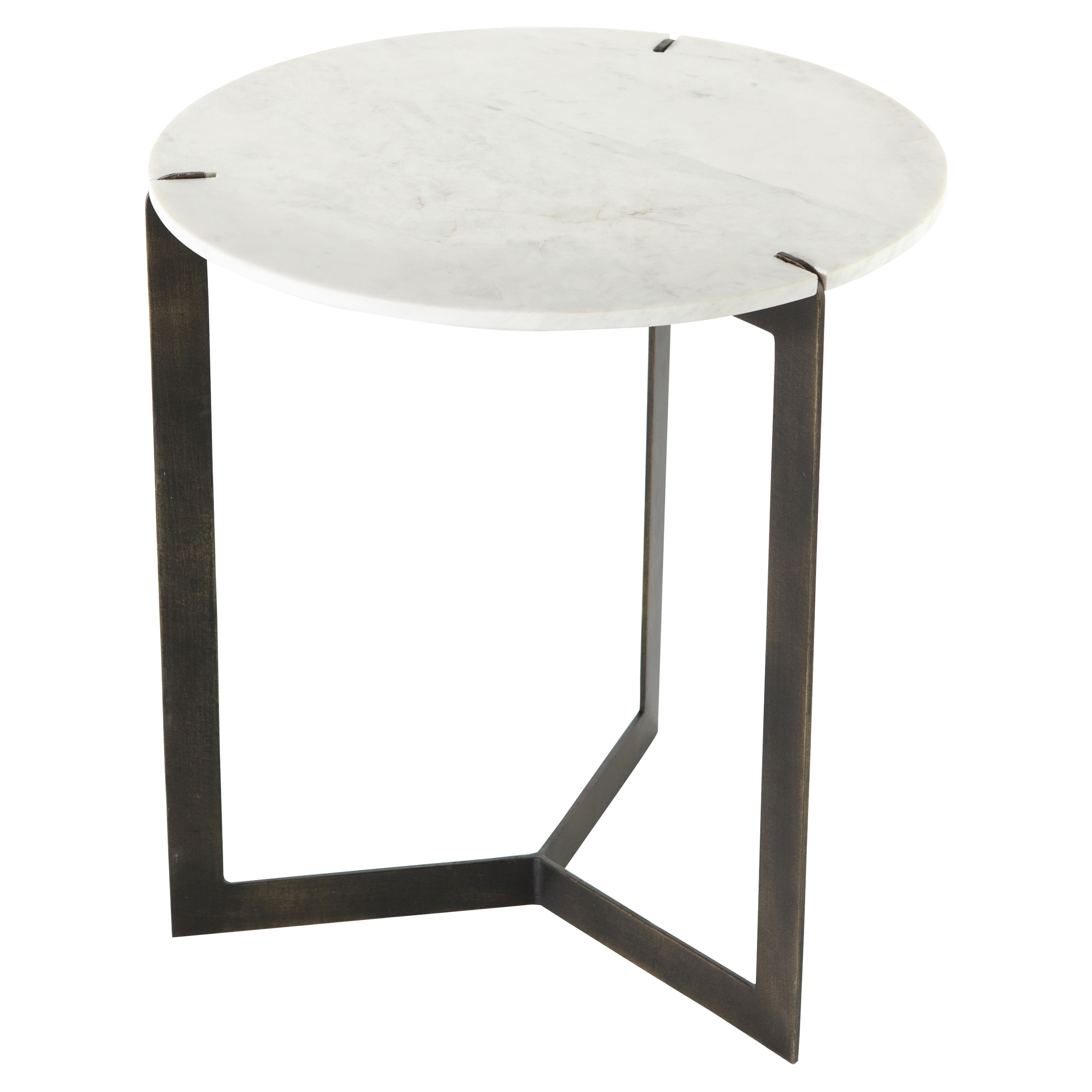 Designer Side & End Tables - Eclectic Side & End Tables | Kathy Kuo Home intended for Aged Iron Cube Tables (Image 14 of 30)
