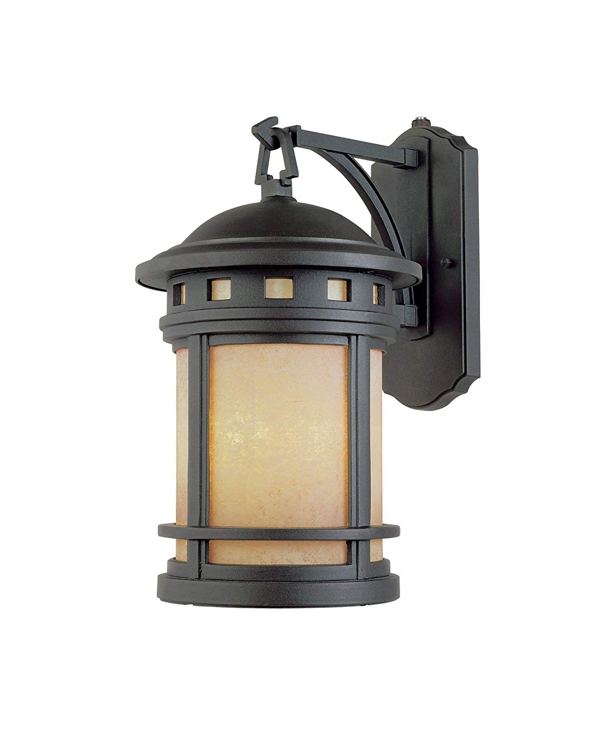 Designers Fountain Es2381-Am-Orb Sedona-Es Wall Lanterns, Oil Rubbed for Outdoor Oil Lanterns (Image 4 of 20)