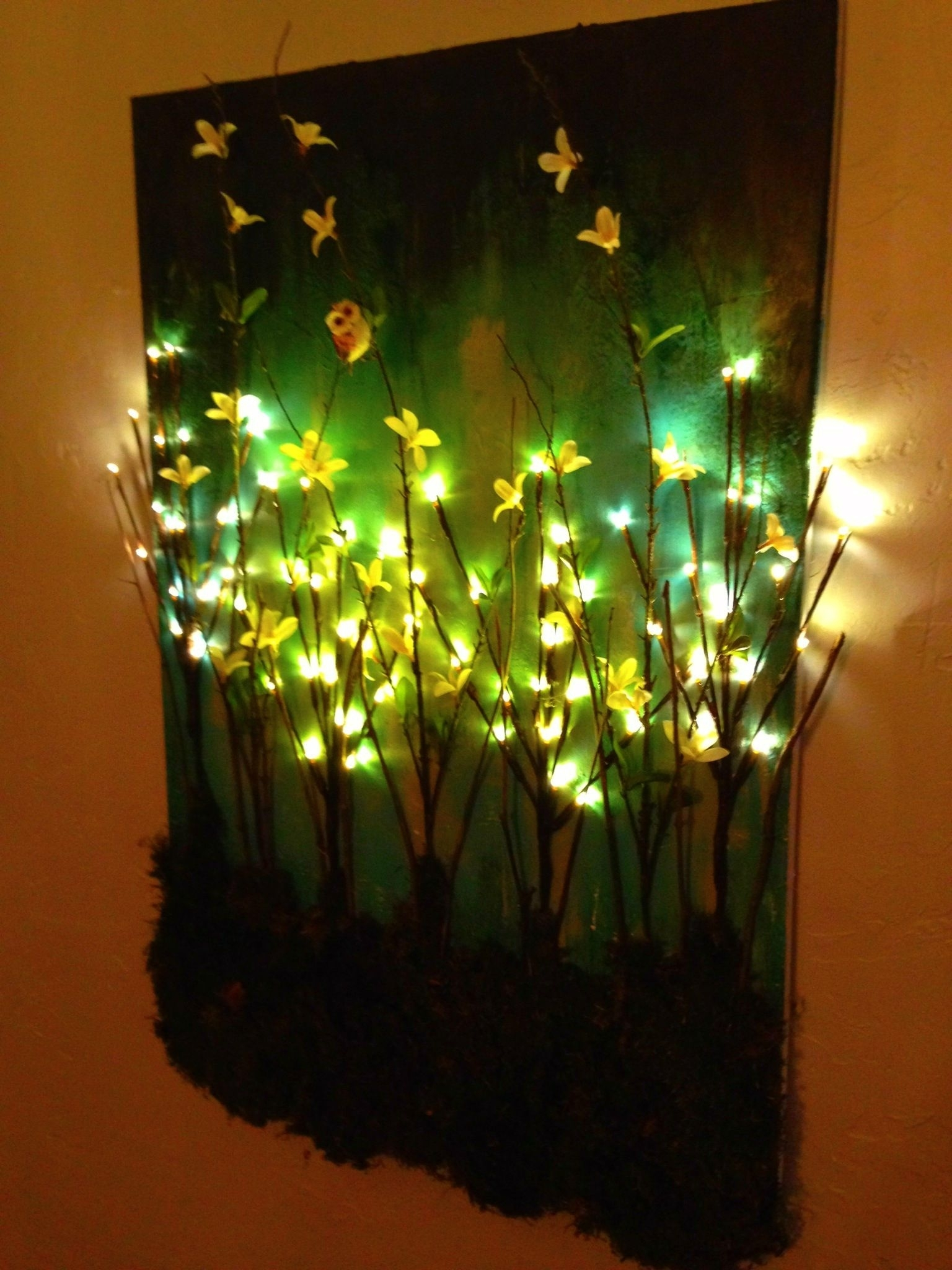 Despite A Wide Range Of Wall Decor Options Available Nowadays with Light Up Wall Art (Image 6 of 20)