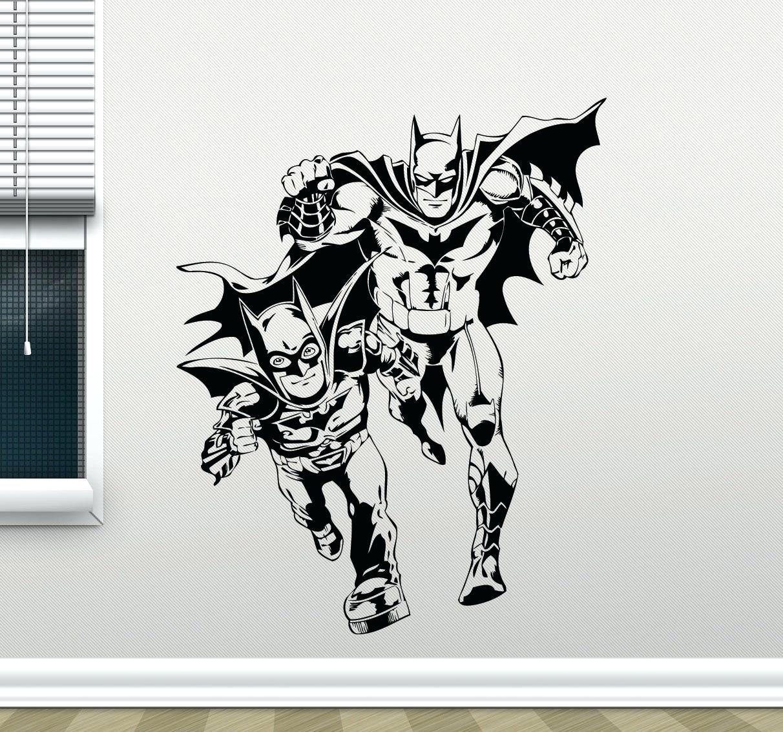 Detroit Tigers Wall Decals Batman Wall Decal Marvel Comics Superhero Pertaining To Batman Wall Art (View 15 of 20)