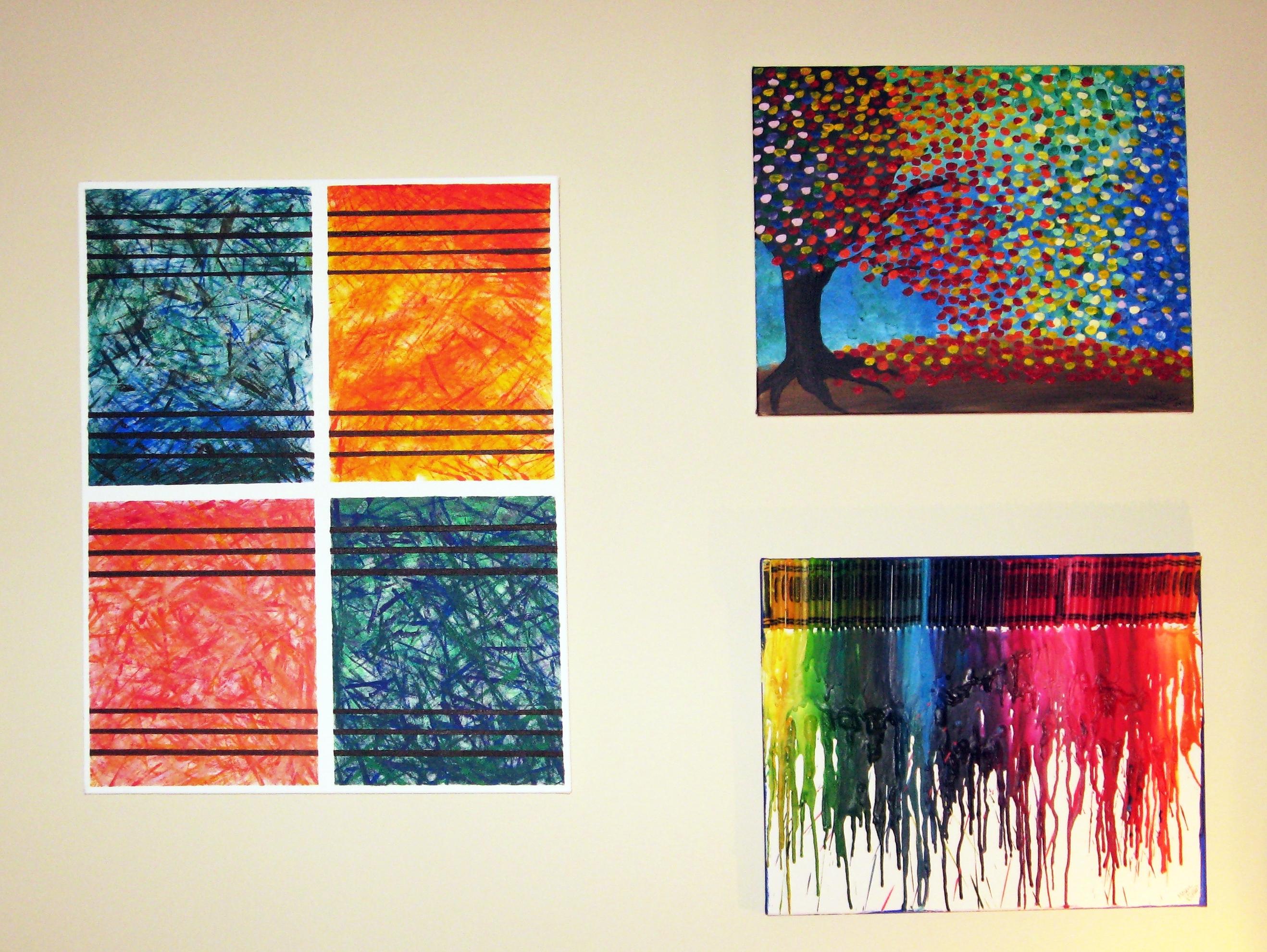 Diy Abstract Wall Art | Make Something Mondays! within Abstract Wall Art (Image 11 of 20)