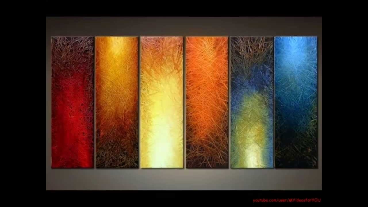 Diy Art Canvas Painting Ideas For Living Room - Youtube regarding Wall Art Paintings (Image 14 of 20)