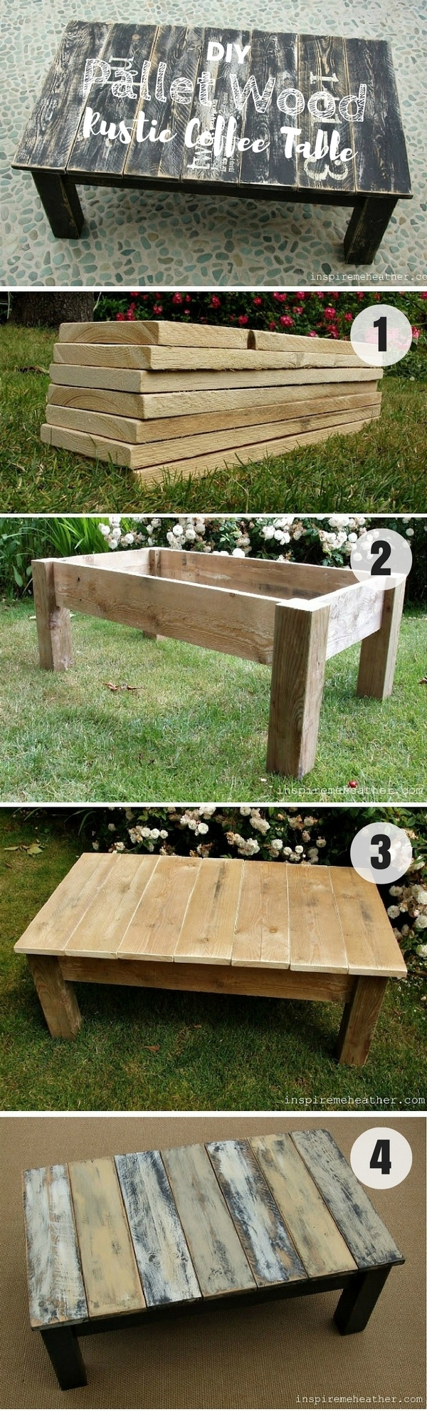 Diy Coffee Table - 40 Easy Ideas You Can Make On A Budget pertaining to Jelly Bean Coffee Tables (Image 8 of 30)