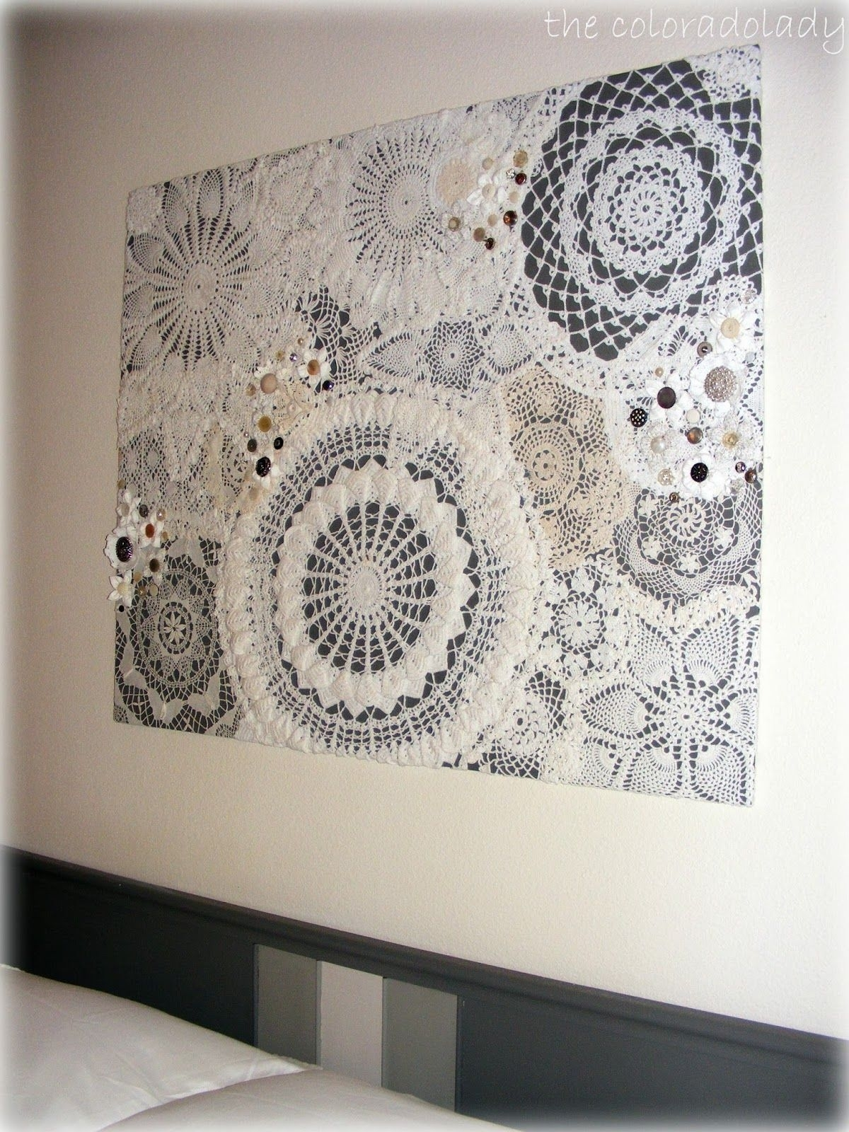 Diy Doily Craft Ideas | My Style | Pinterest | Doilies Crafts, Walls with Crochet Wall Art (Image 10 of 20)