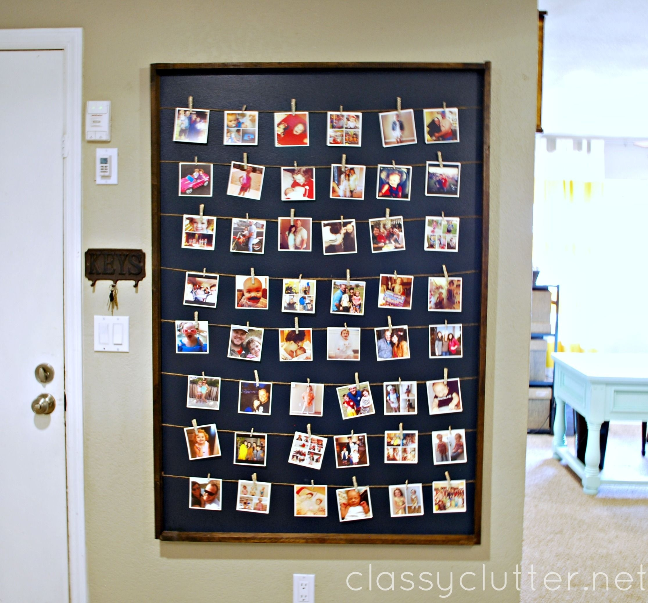 Diy Instagram Photo Wall Display | Recruiting Volunteers | Pinterest intended for Instagram Wall Art (Image 7 of 20)