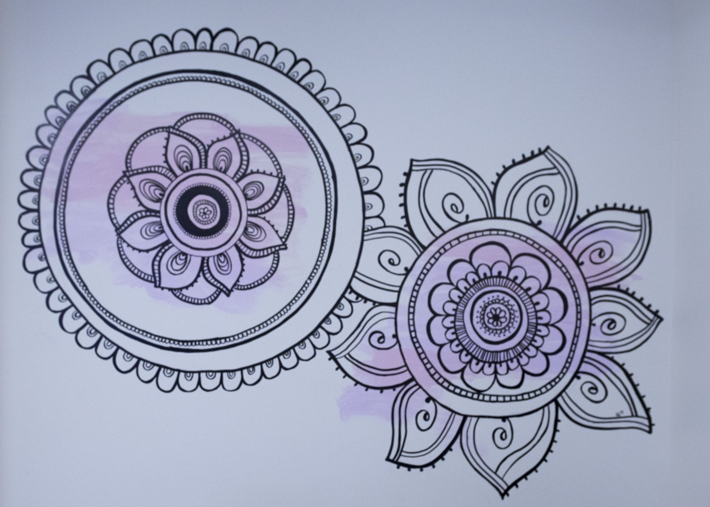 Diy Mandala Wall Art | With A Sharpie And No Stencils! With Mandala Wall Art (View 13 of 20)
