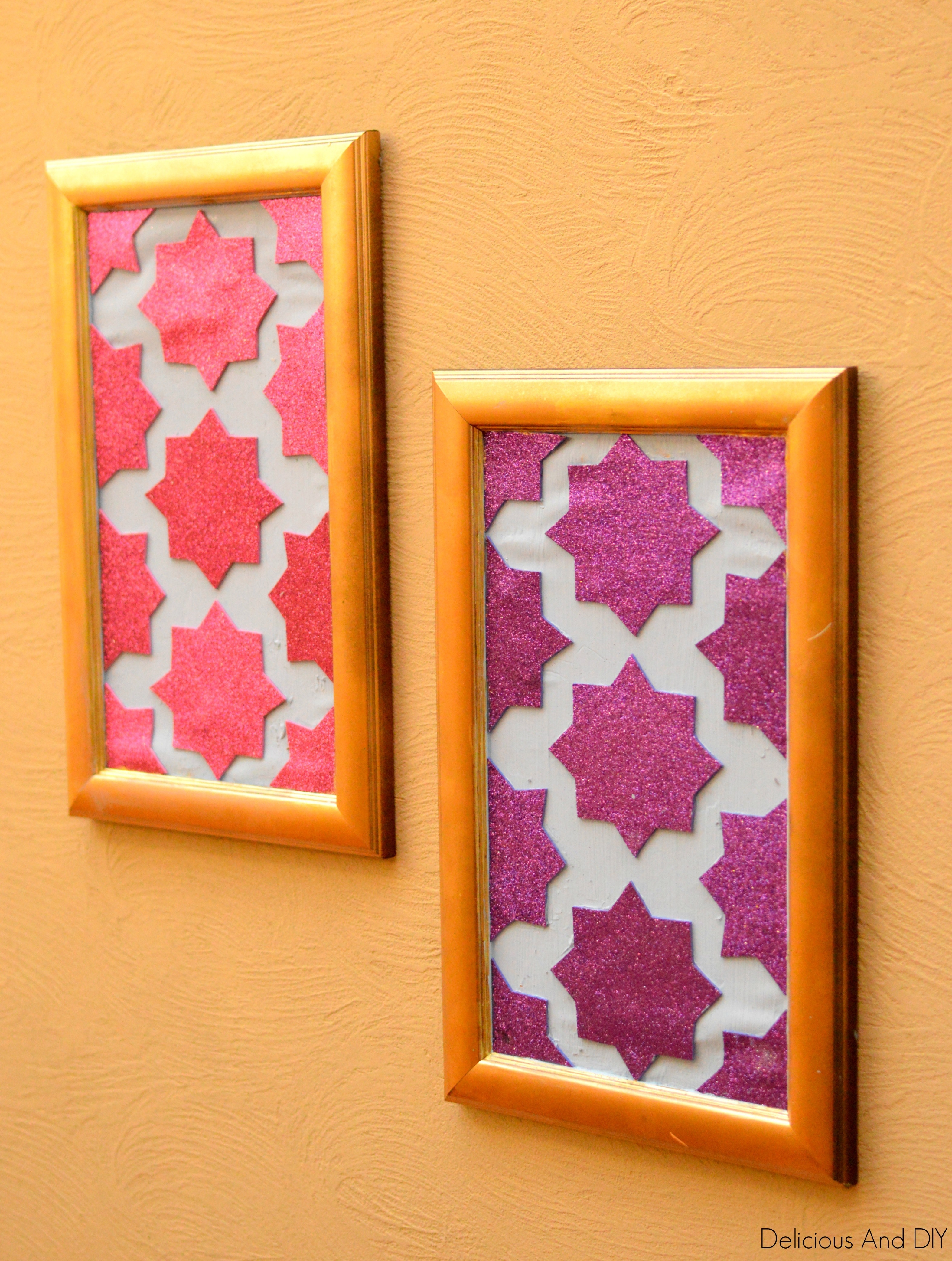 Diy Moroccan Wall Art - Delicious And Diy within Moroccan Wall Art (Image 2 of 20)